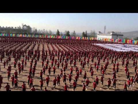 Kunfu Academy, China, near the Shaolin Temple, (Tagou Martial Arts School)