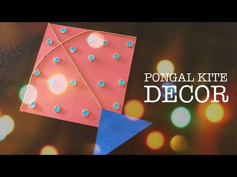 DIY Pongal Decoration Ideas | DIY Pongal Kite Decor Ideas