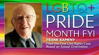 LGBTQ+ Pride Month FYI: Frank Kameny | The View