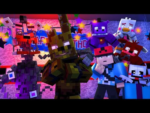 Minecraft FNAF 6 Pizzeria Simulator - MOLTON FREDDY'S BEST FRIEND! (Minecraft Roleplay)
