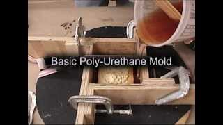 Mold Making and Casting: urethane mold process for candles, soap, plaster, or concrete