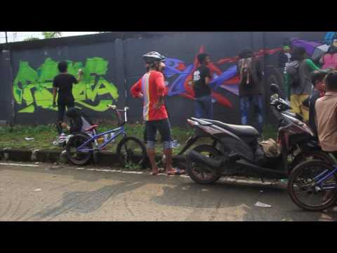 STREET CREATIVITY #1 GRAFFITI - KOTA DEPOK - INDONESIA  ~ INDFLUX PRESENT