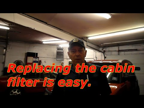 How To Replace The Cabin Filter On A 2002 Cadillac