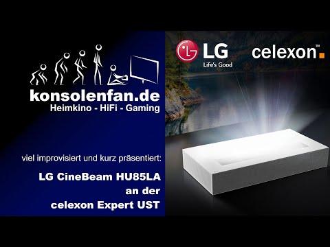 Celexon Expert UST & LG CineBeam HU85LS