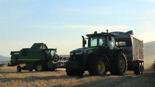 *ZNIWA 2016* Traktory i Kombajny Claas Lexion 560,JD 8285R