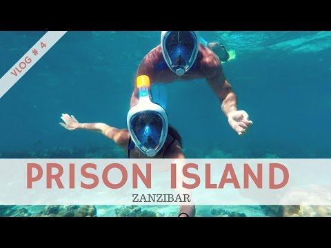 ZANZIBAR visite de Prison Island : vlog #4
