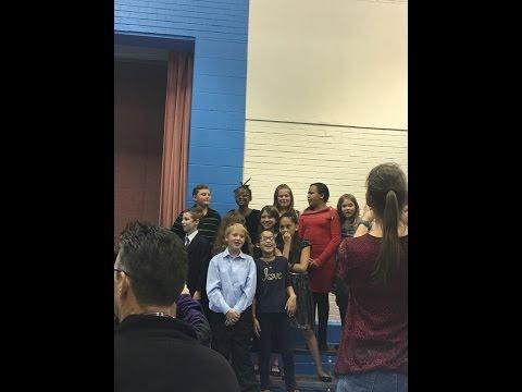 5th Graders Do Broadway at Evans International Elementary School (EIES)
