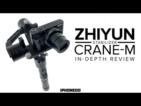 Zhiyun Crane-M Stabilizer for Point and Shoot, Mirrorless, Action Cams and Phones [4K]
