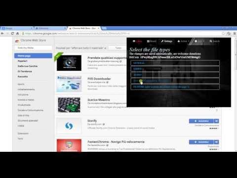 Estensione x scaricare video su google chrome