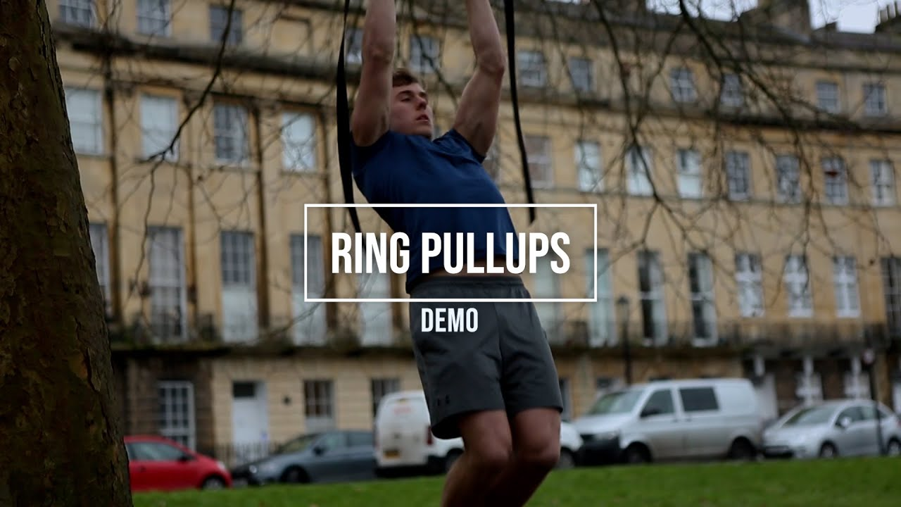Ring pullups - develop an incredible back!