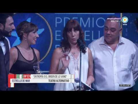 Premio Estrella de Mar 2017 a la mejor obra de teatro alternativo ENTROPIA O EL ORDEN DE LO VANO