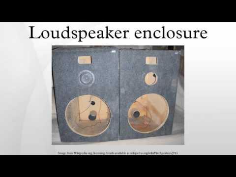 Loudspeaker enclosure