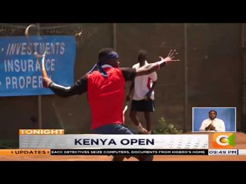 Three Kenyans in Britam Kenya Open semi finals