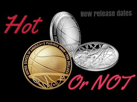 2020 Basketball Hall Of Fame Coins. Will They Be HOT? Silver & Gold US Mint