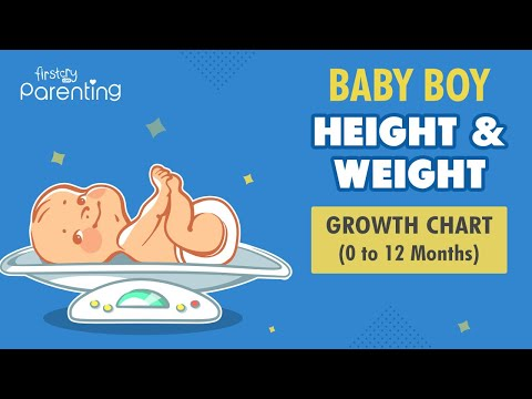 Baby Boy Height & Weight Growth Chart: 0 to 12 Months