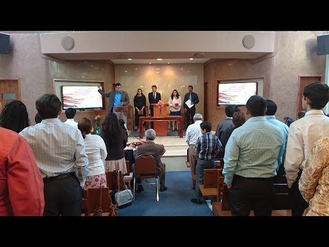 Culto Divino en la Iglesia de Fresno 10 de Diciembre de 2016.