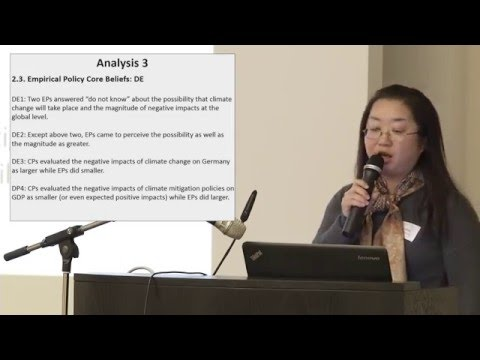 Rie Watanabe: A Comparative Analysis of Climate and Energy Beliefs in Japan and Germany