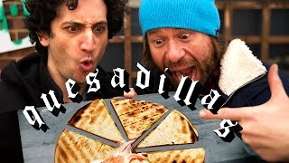 Quesadillas With Venezuelan Twist Feat Dj Bbq !