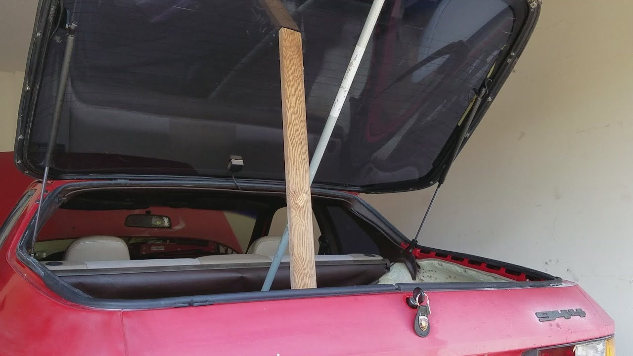 Image result for porsche 944 rear hatch removal