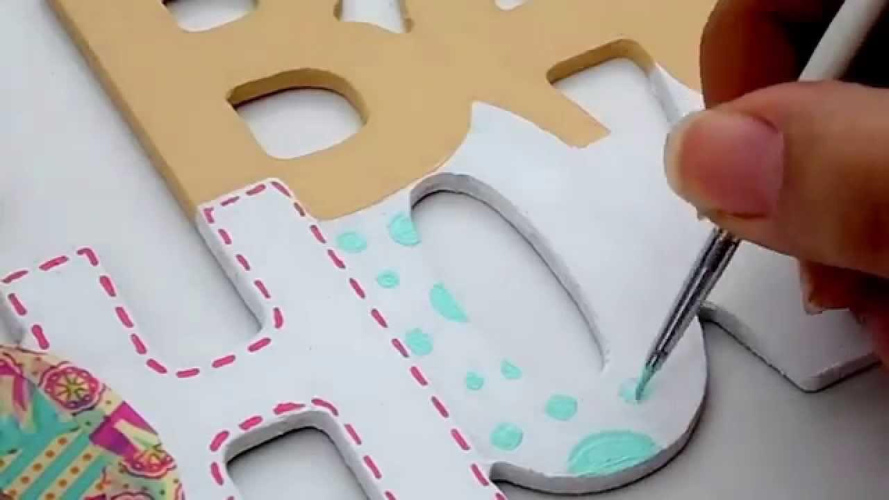 Letrero de baby shower para photobooth youtube - Cosas de madera para hacer ...