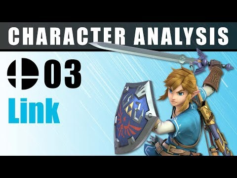 Character Analysis - 03 Link - Super Smash Bros. Ultimate