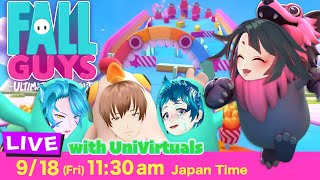【Live】Fall Guys with UniVirtuals vol.2【Game】