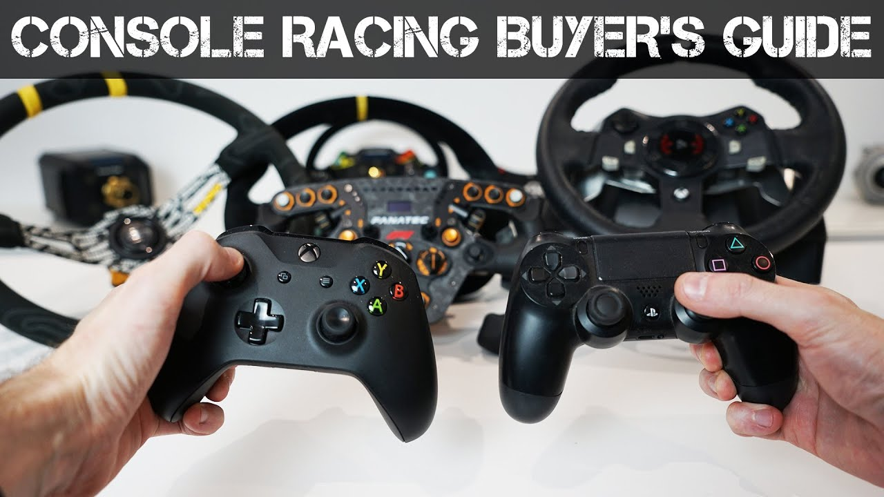 Video: Wheel, Pedal & Cockpit Buyer's Guide for consoles