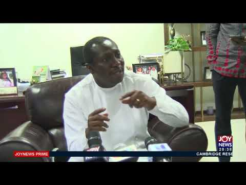 Afenyo-Markin backs review of trade laws to exempt Nigeria's - Joy News Prime (23-7-21)