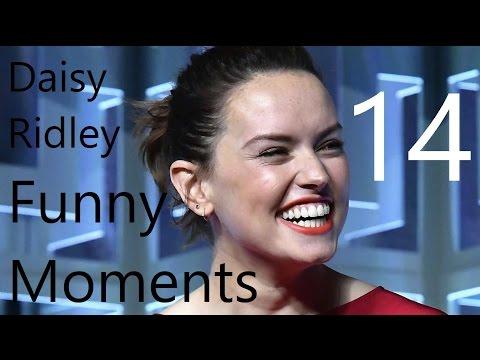 Daisy Ridley Funny Moments 14