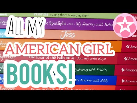 My American Girl Book Collection!