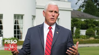 WATCH LIVE: Pence delivers remarks to public health service employees in Rockville, Maryland