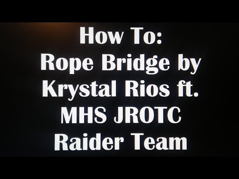 How To: Rope Bridge