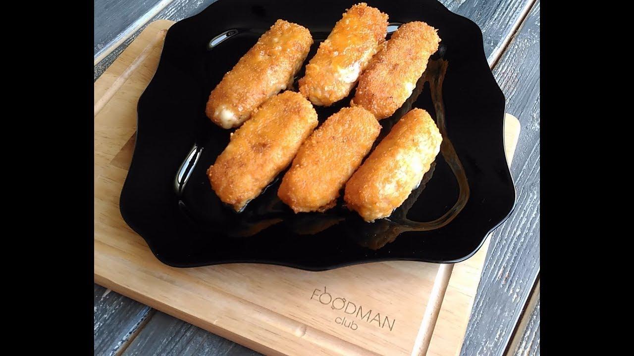 Куриные рулетики с сыром в панировке: рецепт от Foodman.club