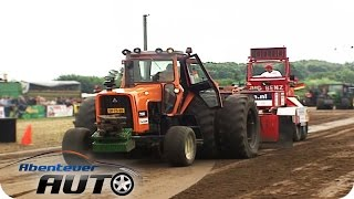 Tractor-Pulling: Traktor Battles bei der Bauern-Olympiade  Abenteuer Auto Classics