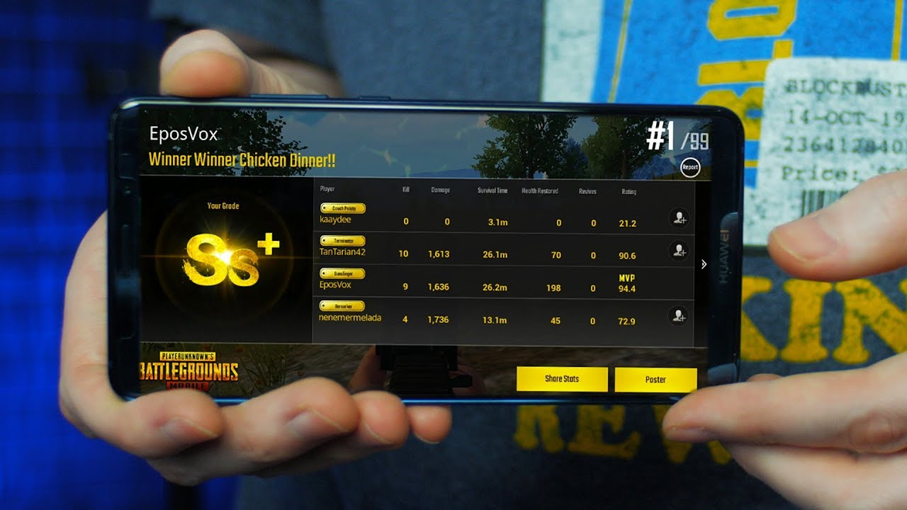 Gaming on the Huawei Mate 10 Pro | 18:9 OLED SCREEN IS PERFECT (PUBG Mobile  Test & Benchmark)