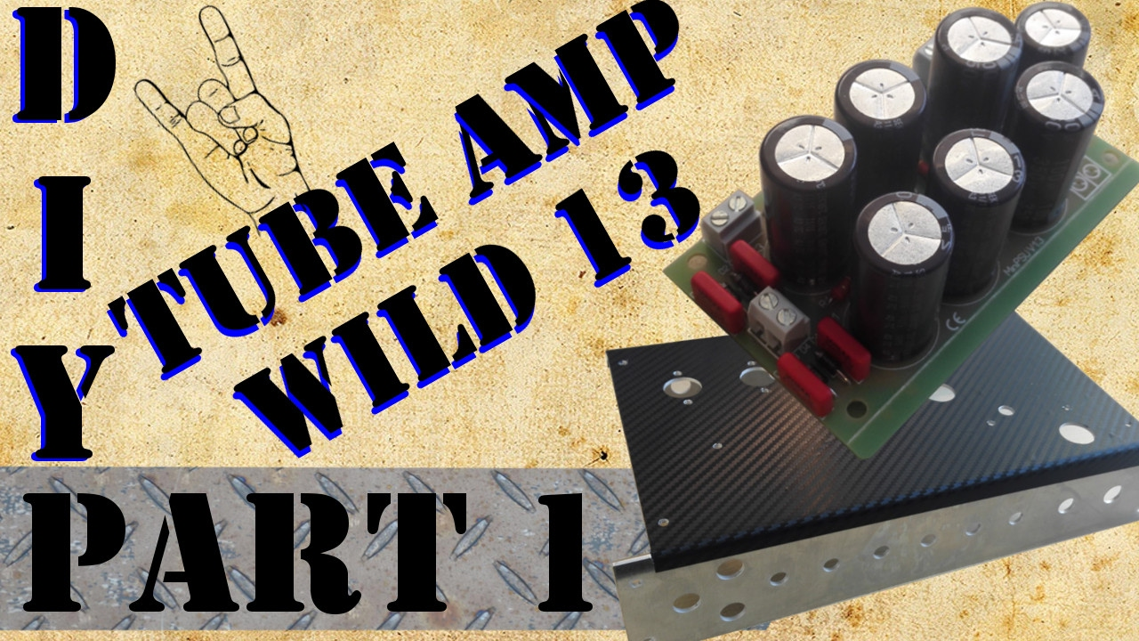 build your own tube amp tiny terror copy by episode 1 powersupply youtube. Black Bedroom Furniture Sets. Home Design Ideas