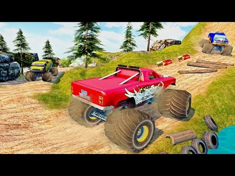 MONSTER TRUCK GAMES 3D 2019 #Android GamePlay FHD #Monster Truck Wala Game #Games Download Free - 동영상