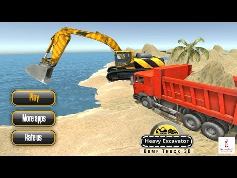 Heavy Excavator Dump Truck 3D Android Gameplay HD