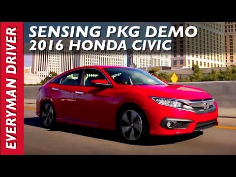 Here's the Sensing Package Demo: 2016 Honda Civic on Everyman Driver