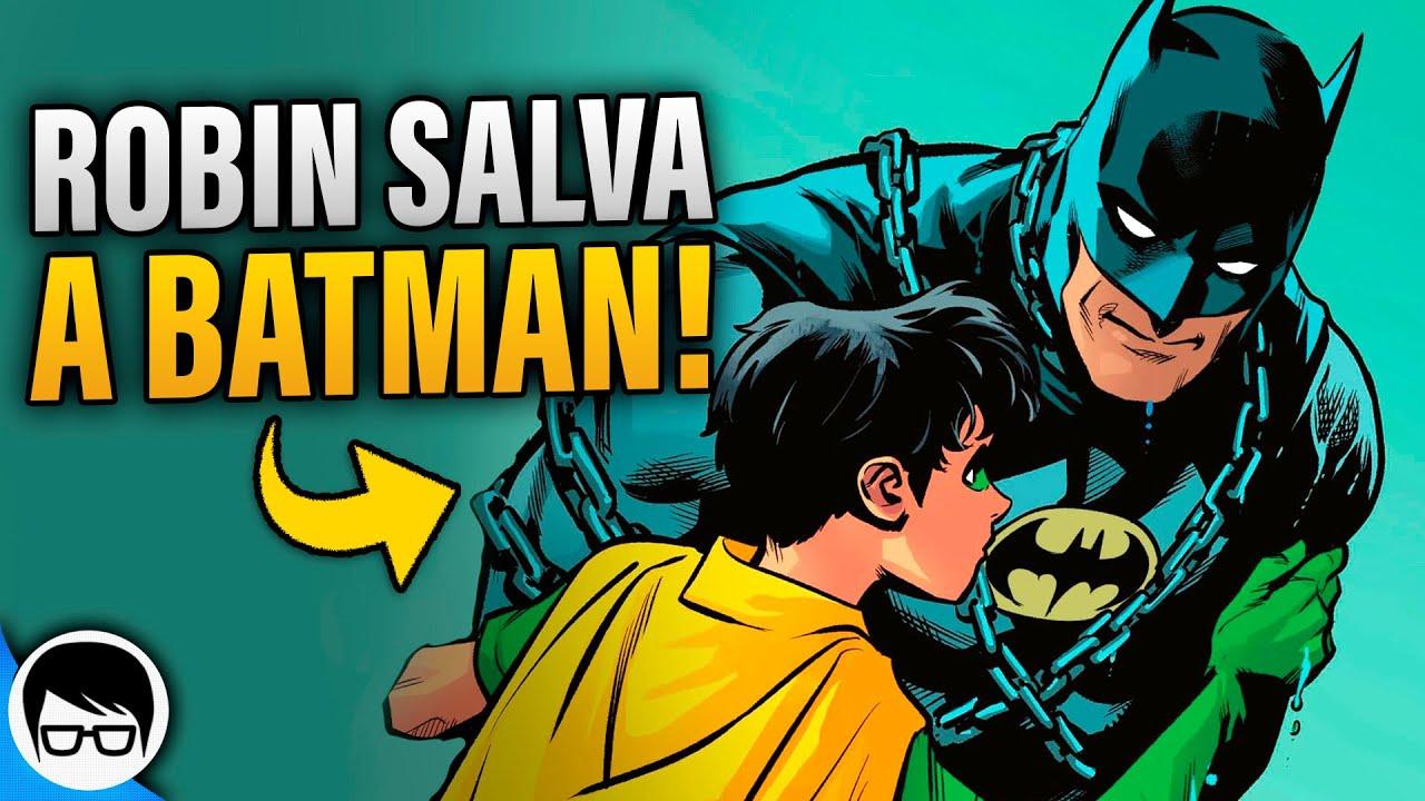 El Día Que Robin Le Salvó La Vida a Batman (2021) | Batman - Urban Legends #5