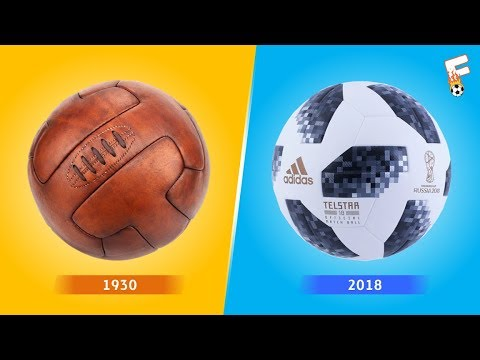 Evolution Of The Official FIFA World Cup Ball 1930 - 2018 ⚽ Footchampion