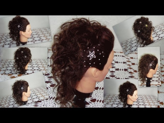PEINADO  EN CASCADA ; OCASIONES ESPECIALES / WATERFALL HAIRSTYLE; PARTY HAIRSTYLE Videos De Viajes