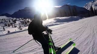 White Dot Preachers Ski Testing GoPro Hero 4 Silver HD