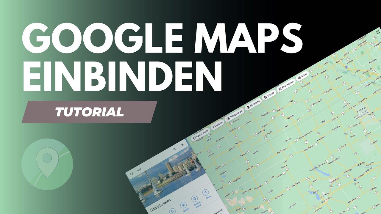 Google Maps in WordPress einbinden in 5 Minuten ohne Plugin! - YouTube
