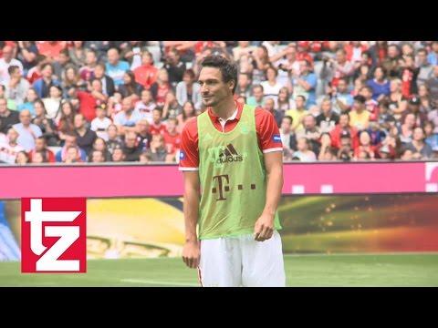 Mats Hummels erster Auftritt in der Allianz Arena (FC Bayern München)