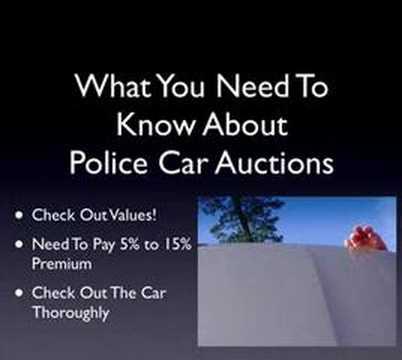 Baltimore City Impound Car Auction