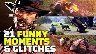 Red Dead Redemption 2: 21 Funny Glitches and Moments