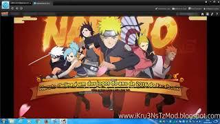 Naruto Online - Trainer Hack v1.6 (99999 Ryos Cupons e Lingotes) - iKru3NsTz Mod Team