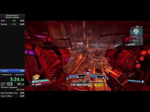 Borderlands 2 Wattle Gobbler DLC Speedrun in 5:36  