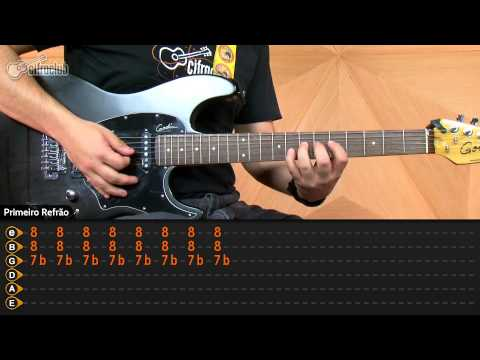 Give It Away - Red Hot Chili Peppers (aula de guitarra)